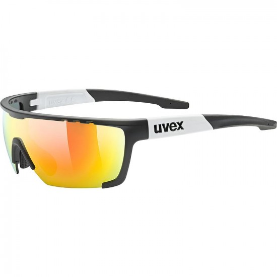UVEX SPORTSTYLE 707 BLACK MAT-WHITE /PC MIR RED Cat.3 (S5320772816)
