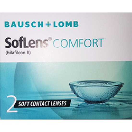 BAUSCH & LOMB SOFLENS COMFORT  (2 TEM.) ΜΗΝΙΑΙΟΙ ΦΑΚΟΙ ΕΠΑΦ.