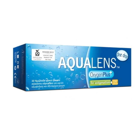 AQUALENS OXYGEN PLUS ONE DAY FOR ASTIGMATISM (30-PACK)