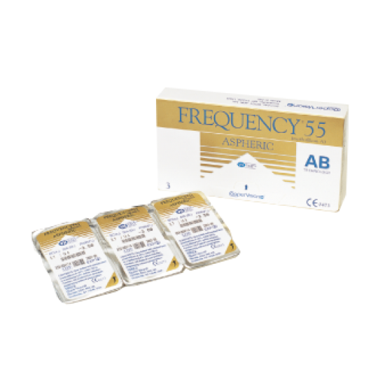 FREQUENCY 55 ASPHERIC (3-PACK)